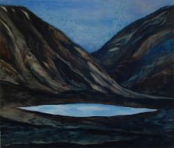 Het blauwe meer