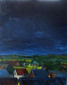 Himmel über Bentheim
